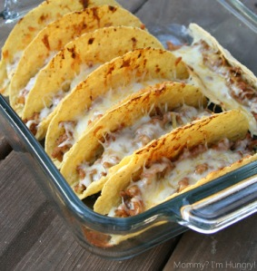 The easiest, yummiest tacos EVER from the Mommy I'm Hungry blog